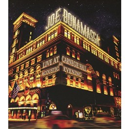 Joe Bonamassa Live At Carnegie Hall - Acoustic Evening BLU-RAY