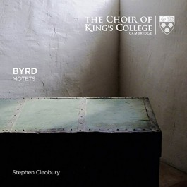 Choir Of Kings College Cambridge Cleobury Byrd Motets CD