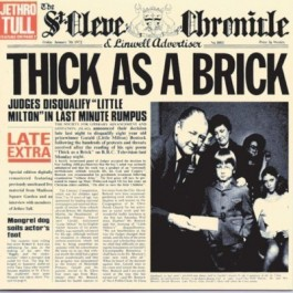 Jethro Tull Thick As A Brick 2012 Stereo Remix CD