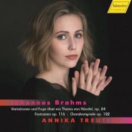 Annika Treutler Brahms Variationen Und Fuge Uber Ein Thema Von Handel Op.24 CD