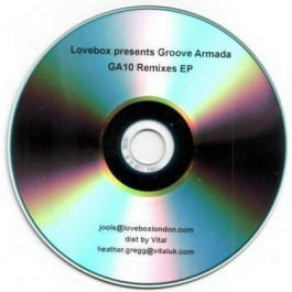 Groove Armada 10 Year Story CD