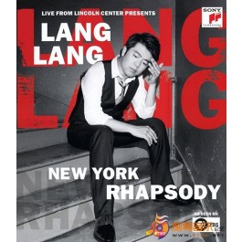 Lang Lang New York Rhapsody Live From Lincoln Center BLU-RAY