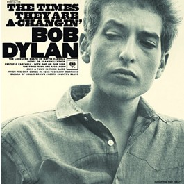 Bob Dylan Times They Are A-Changin Legacy Vinyl 180Gr LP