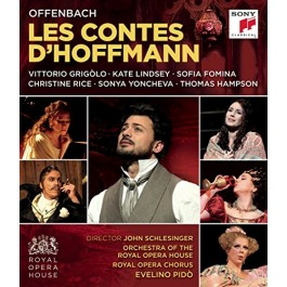 Vitorio Grigolo Offenbach Les Contes Dhoffman BLU-RAY