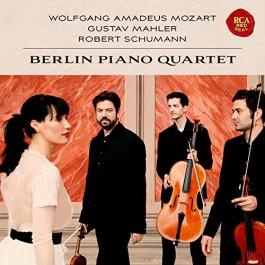 Berlin Piano Quartet Mozart, Mahler, Schuman CD