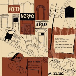 Red Norvo Trio Men At Work Vol.1 LP