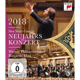 Wiener Philharmoniker New Years Concert 2018 BLU-RAY