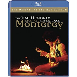 Jimi Hendrix Experience Live In Moterey BLU-RAY