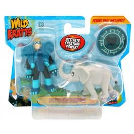 Wild Kratts Wild Kratts 2 Pack - Elephant Powers IGRAČKA RAZNO