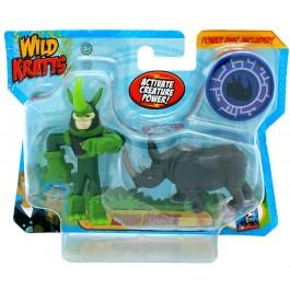 Wild Kratts Wild Kratts 2 Pack - Rhino Powers IGRAČKA RAZNO