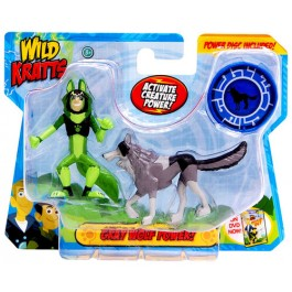 Wild Kratts Wild Kratts 2 Pack - Grey Wolf Powers IGRAČKA RAZNO