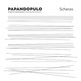 Papandopulo Kvartet Scherzo CD