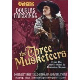 Fred Niblo Tri Mušketira DVD