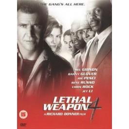 Richard Donner Smrtonosno Oružje 4 DVD