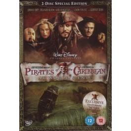 Gore Verbinski Pirati S Kariba Na Kraju Svijeta DVD