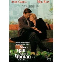 Luis Mandoki James W Gavin Mickey Gilbert Ii Kad Muškarac Voli Ženu DVD