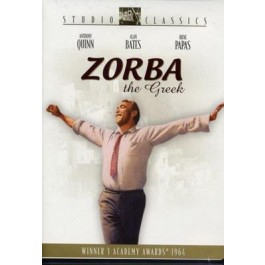 Michael Cacoyannis Grk Zorba DVD
