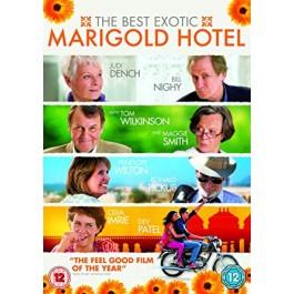 John Madden Marigold Hotel BLU-RAY