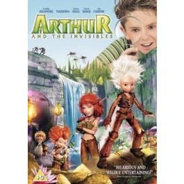 Luc Besson Arthur U Zemlji Minimoya DVD