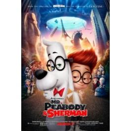 Rob Minkoff Avanture Gospodina Peabodyja I Shermana DVD