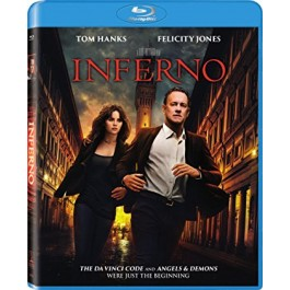 Ron Howard Inferno BLU-RAY