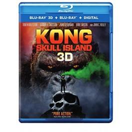 Jordan Vogt-Roberts Kong Otok Lubanja BLU-RAY 3D
