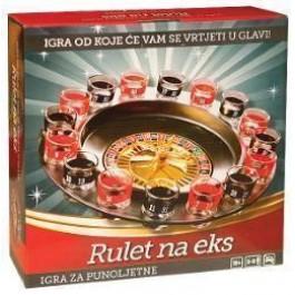 Društvena Igra Rulet Na Eks IGRA-DRUŠTVENA IGRA