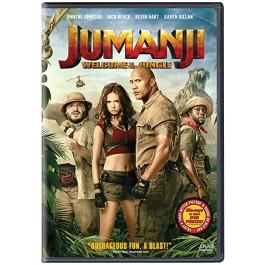 Jake Kasdan Jumanji Dobro Došli U Džunglu DVD