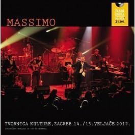 Massimo Live In Tvornica 14., 15. Veljače 2012 CD