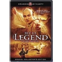 Corey Yuen Jet Li Legenda O Fong Sai Yuku DVD