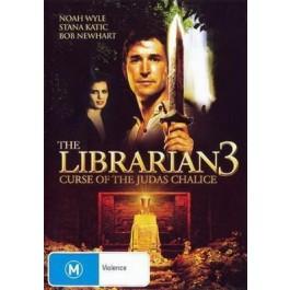 Jonathan Frakes Knjižničar 3 Prokletstvo Judinog Pehara DVD