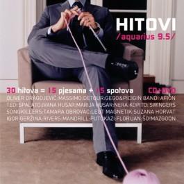 Razni Izvođači Aquarius 95 Hitovi CD/MP3