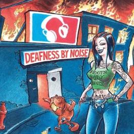Deafness By Noise Roots Baby Roots Transparent Blue Vinyl LP