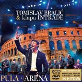 Tomislav Bralić & Klapa Intrade Arena Pula Limited CD2+DVD