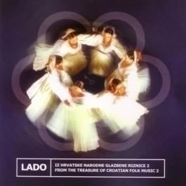 Lado Iz Hrvatske Narodne Glazbene Riznice 2 CD/MP3