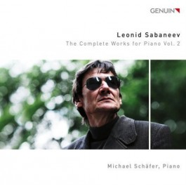 Michael Schaefer Sabaneev The Complete Works For Piano Vol.2 CD