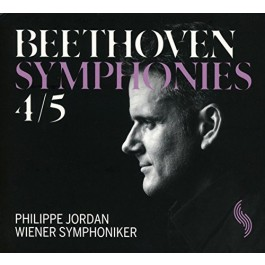 Philippe Jordan Wiener Symphoniker Beethoven Symphonies Nos. 4&5 CD