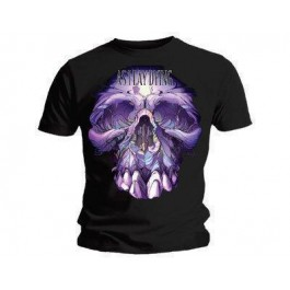 As I Lay Dying Big Ass Skully M, Ts, Black MAJICA