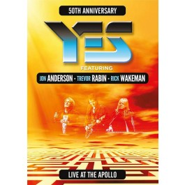 Yes Live At The Apollo 50Th Anniversary DVD
