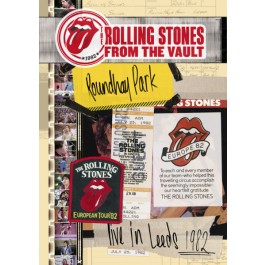 Rolling Stones From The Vault Live In Leeds 1982 LP3+DVD