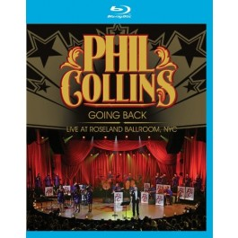 Phil Collins Going Back Live At Roseland Ballroom BLU-RAY