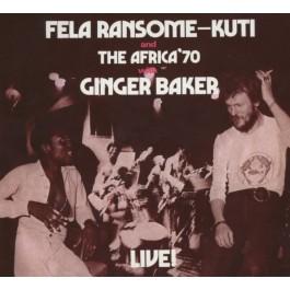 Fela Kuti Fela With Ginger Baker Live CD