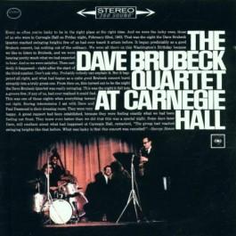 Dave Brubeck Quartet At Carnegie Hall CD2