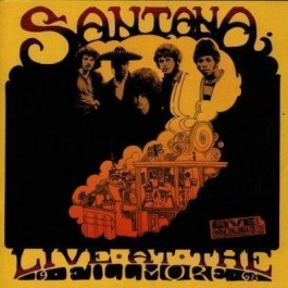 Santana Live At The Fillmore 68 CD