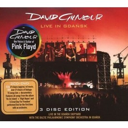 David Gilmour Live In Gdansk CD2+DVD