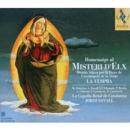 Jordi Savall Homenatage Al Misteri Delx CD