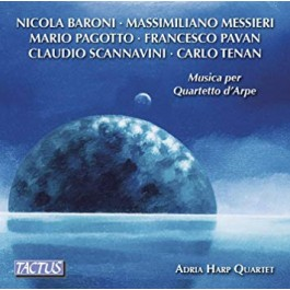 Adria Harp Quartet Music For Harp Quartet CD