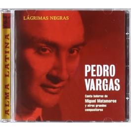 Pedro Vargas Lagrimas Negras CD