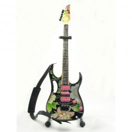 Mini Gitara Ibanez Flower Cut - Steve Vai Replica SUVENIR