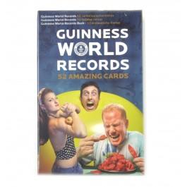 Kikkerland Igrače Karte 52 Deck Guinenessova Knjiga Rekorda RAZNO